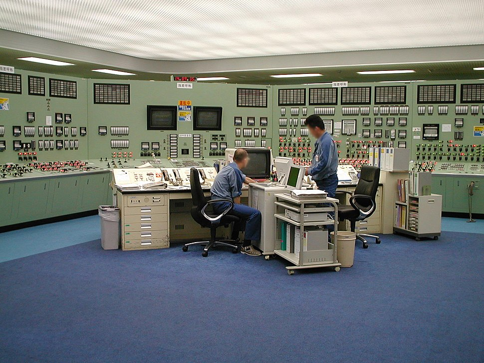 Fukushima 1 Power Plant control room