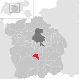 Location in the district