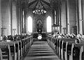 Funeral in Naustdal church, ca. 1915-1935.jpg