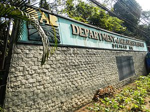Department of Agrarian Reform (Philippines) - Facade