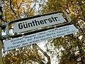 Güntherstraße, Hannover Waldhausen, Günther Wagner (1842-1930), Gründer der Pelikan-Werke Hannover, Erbauer des ersten Hauses in dieser Straße.jpg