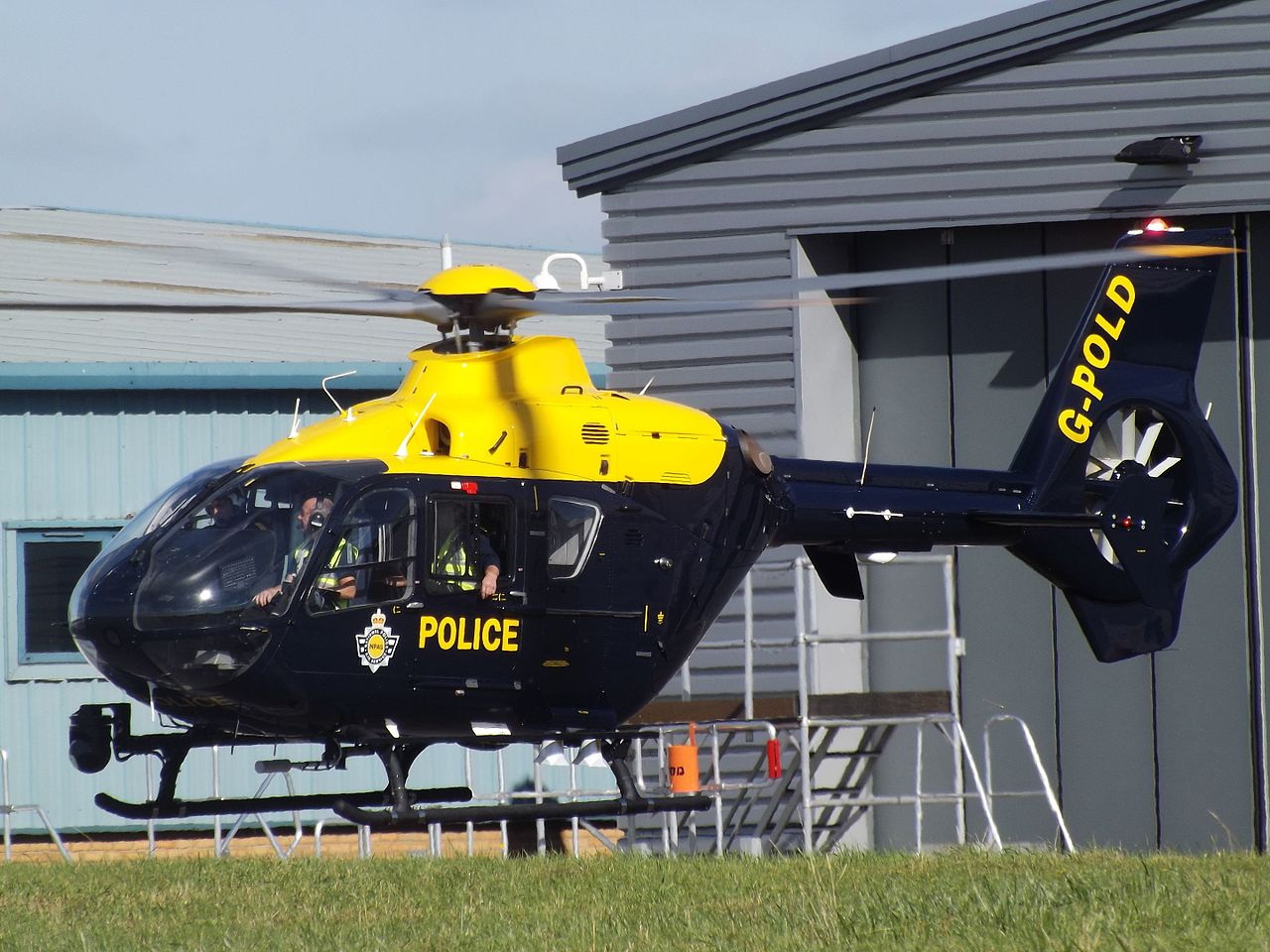 File:G-POLD Eurocopter EC135 Helicopter National Police ...