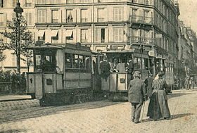 Image illustrative de l'article Tramway funiculaire de Belleville