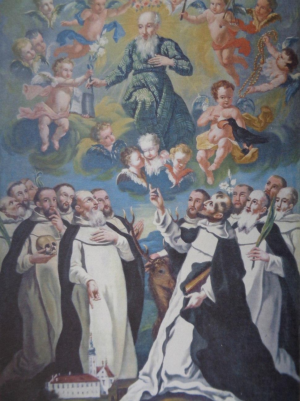 Gabriel Thaller; Sveti Jeronim i pavlini (18.st.)