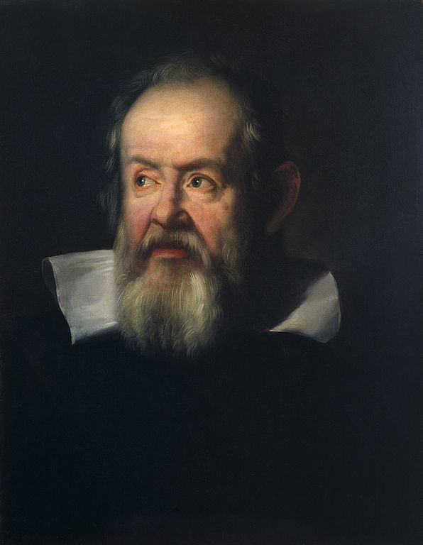 Galileo Galilei (1564-1642). Oil painting after Justus Wellcome L0021979