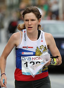 Galina Vinogradova (WOC 2010 sprint final).jpg
