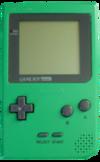 Green Game Boy Pocket