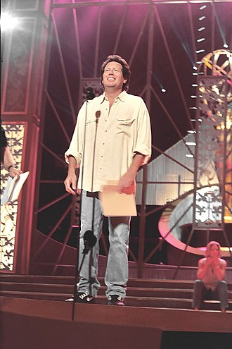 Garry Shandling - Shandling during the 1994 Emmy Awards rehearsals