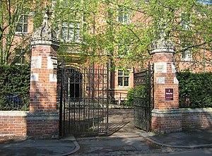 Ridley Hall, Cambridge - Entrance