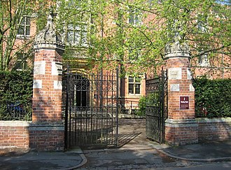 Ridley Hall, Cambridge - Entrance