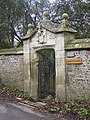 Gate to Idmiston Manor - geograph.org.uk - 337895.jpg