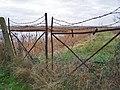 Gates on the marsh - geograph.org.uk - 1026033.jpg
