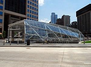 Gateway (PAT station) - Gateway Center Station entrance
