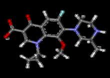 Gatifloxacin ball-and-stick.png
