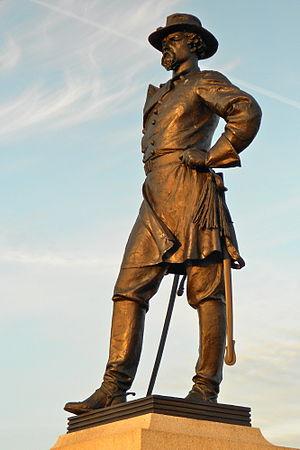Alexander S. Webb - Statue at Gettysburg by J. Massey Rhind
