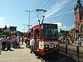 Gdaňsk, Wały Jagellońskie, tramvaj.JPG