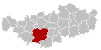 Genappe - Image: Genappe Brabant Wallon Belgium Map