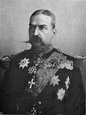 Iacob Lahovary - Image: General Iacob Lahovary (W Le Queux)
