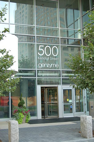 Genzyme - Sanofi Genzyme headquarters in Cambridge, Massachusetts