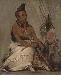 Eh-toh'k-pah-she-pée-shah, Black Moccasin, aged Chief