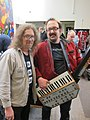 George Mattson & Steve Fisk with PSM Syntar, PNW SynthFest 2013.jpg