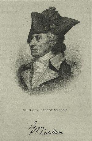 George Weedon - George Weedon, Continental Army General.