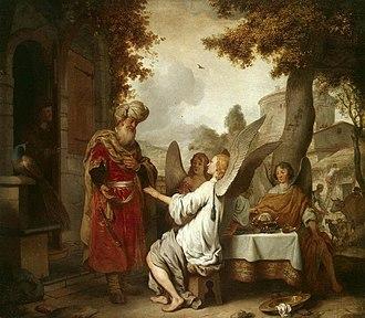 Gerbrand van den Eeckhout - Image: Gerbrand van den Eeckhout Abraham and the Three Angels WGA7462