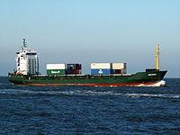 German approaching Port of Rotterdam 29-Jan-2006.jpg