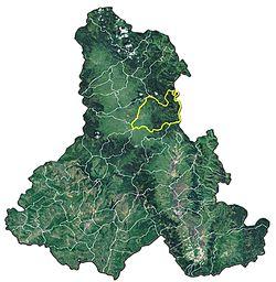 Vị trí của Gheorgheni