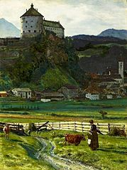 View of Kufstein Castle.