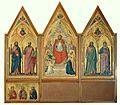 Giotto. The Stefaneschi Triptych (verso) c.1330 220x245cm. Pinacoteca, Vatican..jpg