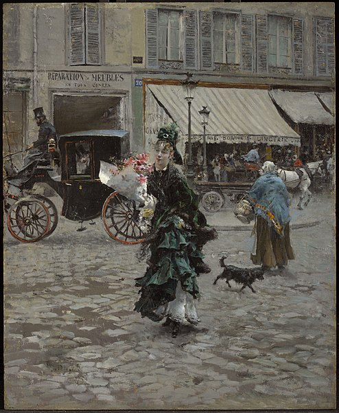 http://upload.wikimedia.org/wikipedia/commons/thumb/9/93/Giovanni_Boldini_Crossing_the_Street.jpg/494px-Giovanni_Boldini_Crossing_the_Street.jpg