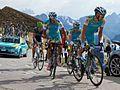 Giro d'Italia 2012, giau 180 kreuziger met seeldraeyers (17786724055).jpg