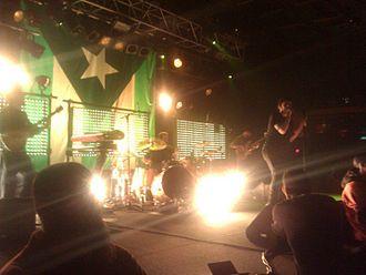 Glassjaw - Glassjaw performing in March 2011 in Sayreville, NJ