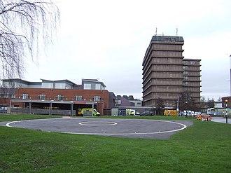 Gloucestershire Royal Hospital - Image: Gloucestershire Royal Hospital geograph.org.uk 307768