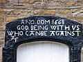 God being with us who can be against - geograph.org.uk - 1754375.jpg