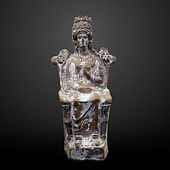 Goddess with kalathos-AM 112