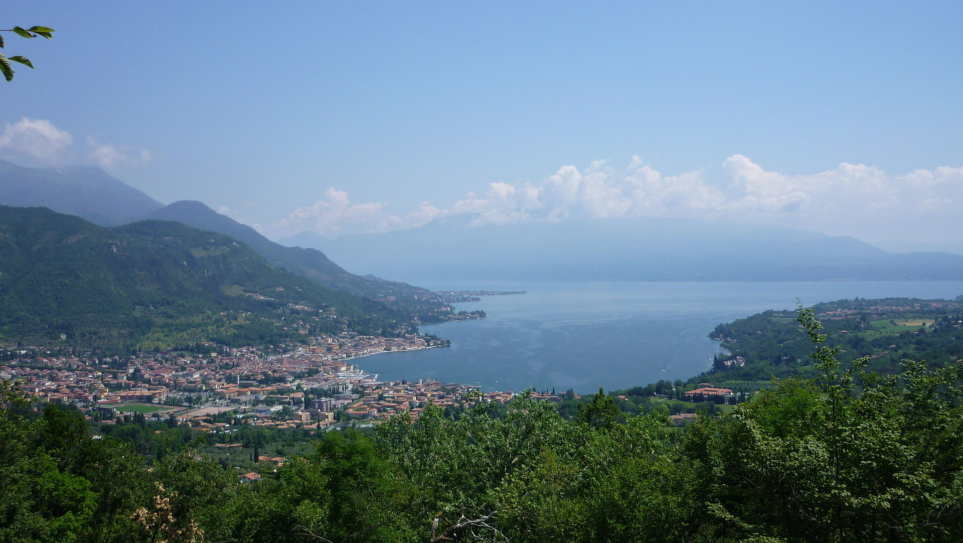View of Salò and its bay