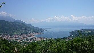 Salò - View of Salò and its bay