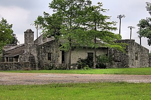 Goliad State Park and Historic Site - Former custodian's house for Goliad State Park. Built by the Civilian Conservation Corps circa 1936