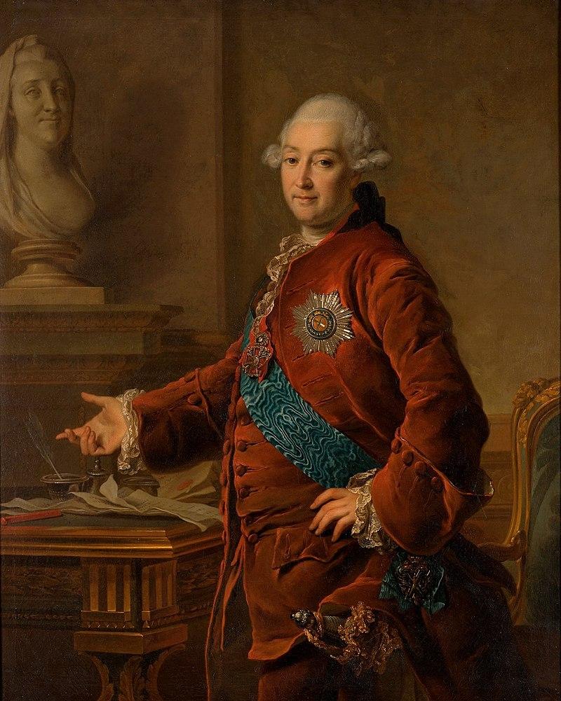 князь Алекса́ндр Миха́йлович Голи́цын (1723-1807)