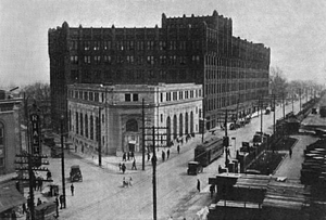 Goodyear Hall-Ohio Savings and Trust Company - Goodyear Hall in 1920
