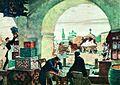 Gostiny Dvor (In a merchant shout) - Kustodiev.jpg