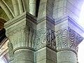 Gournay-en-Bray (76), collégiale St-Hildevert, bas-côté nord, chapiteaux du 4e pilier libre, côté nord-ouest.jpg