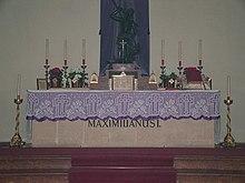 Grab Kaiser Maximilians in Wiener Neustadt (Quelle: Wikimedia)