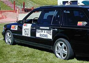 Silver State Classic Challenge - Grand Touring Mercedes Wagon