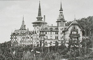 Dolder Grand - The hotel in 1905