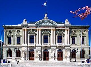 Grand Théâtre de Genève opera house in Geneva, Switzerland