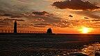 Grand Haven - plaża - Michigan (USA)