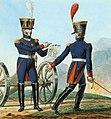 Grande Armée - Artillery-Colonel and Chef de bataillon.jpg